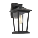 Picture of Walton Black 1 Light Exterior Wall Light (Walton EX-BK) Telbix