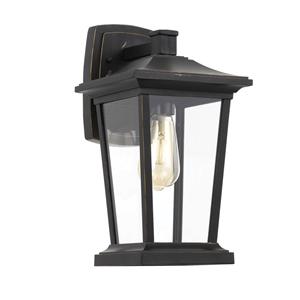 Picture of Walton Black 1 Light Exterior Wall Light (Walton EX-BK) Telbix