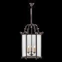 Picture of Charles Bevelled Glass 3 Light Large Hexagonal Lantern (HLXL-GB) Robert Kitto