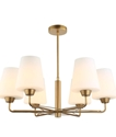 Picture of Abbey 6 light pendant ( Abbey1, Abbey2) CLA Lighting