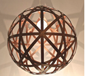 Picture of Bali Ball Timber Pendant