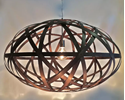 Picture of Bali Oval Timber Pendant