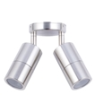 Picture of Exterior 316SS 240V Double Adjustable Wall Pillar Light (PG2ASS) CLA Lighting