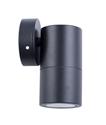 Picture of Exterior Black 240V Single Fixed Wall Pillar Light (PG1FBL) CLA Lighting