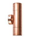 Picture of Exterior Solid Copper 240V Up/Down Wall Pillar Light (PGUDC) CLA Lighting