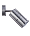 Picture of Exterior Titanium Coloured Aluminium 240V Single Adjustable Wall Pillar Light (PG1AT) CLA LIghting