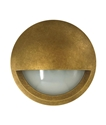 Picture of Exterior Antique Brass 240V LED Surface Mounted Step Light (STE19) CLA Lighting