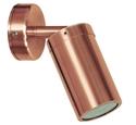 Picture of Newport 2 Solid Copper 240V Single adjustable spot light (S107C) Seaside