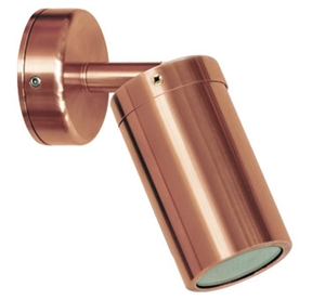 Picture of Newport 1 Solid Copper 12V Single adjustable spot light (S106C) Seaside