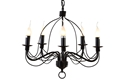 Picture of Candice Traditional 5 Light French Candelabra Pendant (DO2191/P5) MDA Lighting