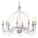 Picture of Candice Traditional 8 Light French Candelabra Pendant (DO2191/P8) MDA Lighting