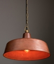 Picture of Aged Copper Interior Pendant (DEKSEL03) CLA Lighting