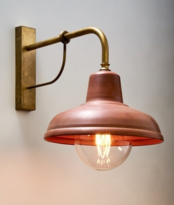 Picture of Aged Copper Interior Wall Light (DEKSEL02) CLA Lighting