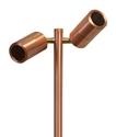 Picture of Exterior 12V Double Copper Adjustable 1M Spike Spotlight (SPM2ALC) CLA Lighting