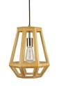 Picture of Santon Small 1 Light Timber Pendant (SANTON-30) Fiorentino Lighting