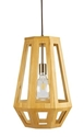 Picture of Santon Medium 1 Light Timber Pendant (SANTON-35) Fiorentino Lighting