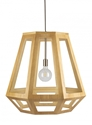 Picture of Santon Large 1 Light Timber Pendant (SANTON-75) Fiorentino Lighting