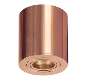 Picture of Shelly Copper Surface Mounted Downlight (S117C/CAN) Seaside Lighting