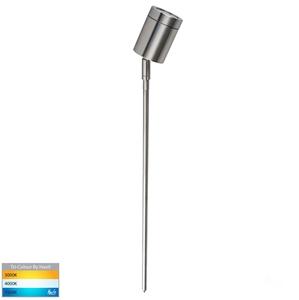 Picture of Pointe Exterior 316SS 12V Single Adjustable 476mm Spike Spotlight With LED Globe (HV1401T) Havit Lighting