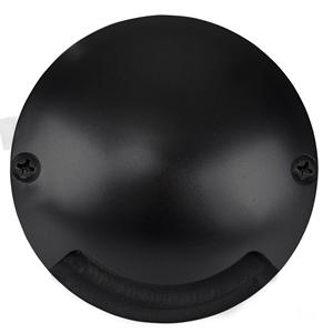 Picture of DOME Black Aluminium LED One Way Deck Light (HV2871-BLK) Havit Lighting