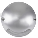Picture of DOME Silver Aluminium LED One Way Deck Light (HV2871-SLV) Havit Lighting