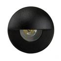 Picture of Mini Ollo Exterior Black Mini 12V LED Recessed Step Light (HV2891-BLK) Havit Lighting