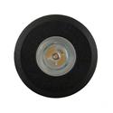 Picture of Mini Ollo Exterior Black Mini 12V LED Recessed Step Light (HV2892-BLK) Havit Lighting