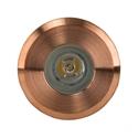 Picture of Mini Ollo Exterior Copper Mini 12V LED Recessed Step Light (HV2892-CP) Havit Lighting