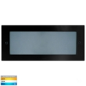 Picture of Bata Exterior Black Recessed Open Face 10W LED Bricklight (HV3003T-BLK) Havit Lighting