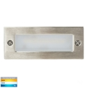 Picture of Bata Exterior 316SS Recessed Open Face 12V 6W LED Bricklight (HV3005T-316SS-12V) Havit Lighting