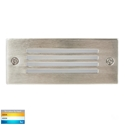 Picture of Bata Exterior 316SS Recessed Grill Face 12V 6W LED Bricklight (HV3006T-316SS-12V) Havit Lighting