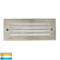 Picture of Bata Exterior 316SS Recessed Grill Face 12V 3W LED Bricklight (HV3008T-316SS-12V) Havit Lighting