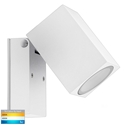 Picture of Accord Exterior White Single Adjustable Spot Light (HV3630T-WHT) Havit Lighting