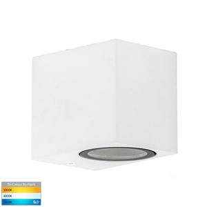 Picture of Accord Exterior White Fixed Down Wall Light (HV3631T-WHT) Havit Lighting
