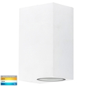 Picture of Accord Exterior White Up/Down Wall Light (HV3632T-WHT) Havit Lighting