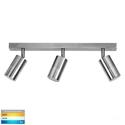 Picture of Exterior Titanium Aluminium 3 Light Bar (HV4001T-3-TTM) Havit Lighting