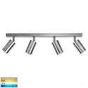 Picture of Exterior Titanium Aluminium 4 Light Bar (HV4001T-4-TTM) Havit Lighting