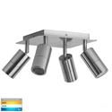 Picture of Exterior Titanium Aluminium 4 Light Square (HV4001T-4-TTM-SQ) Havit Lighting