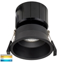 Picture of Black Deep Fixed 12W Dimmable LED Downlight (HV5513T-BLK) Havit Lighting