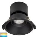 Picture of Black Deep Fixed 12W Dimmable LED Downlight (HV5514T-BLK) Havit Lighting