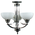 Picture of Houston 3 Light Semi Flush (Houston/SF/3L) Lighting Inspirations