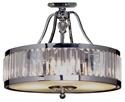 Picture of Excelsior 3 Light Crystal Chandelier CTC (1000176) Lode International