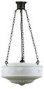 "Picture of  Senator 14"" 3 Patina Black Chain Pendant (3020006) Lighting Inspirations"