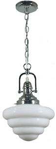 """Picture of Beehive 10"""" 1 Light Chrome Paramount Pendant (1000390) Lighting Inspirations"""