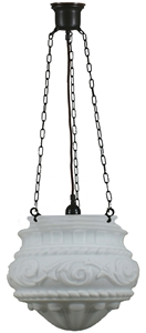 """Picture of  Premier 12"""" 3 Chain Patina Black Pendant (3020070) Lighting Inspirations"""