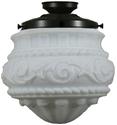 "Picture of  Premier 12"" Patina Black Batten Fix (3020044) Lighting Inspirations"