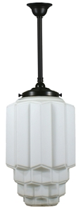 Picture of  Bergerac 1 Light Rod Patina Black Pendant (3020128) Lighting Inspirations
