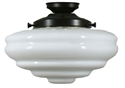 Picture of  Chateau Patina Black Batten Fix (3020041) Lighting Inspirations