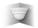 Picture of Corner European Plaster Wall Light White ( WL1669 ) Suplerlux