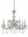 Picture of  C-Mar 8 Lights Glass Chandelier Fiorentino Lighting